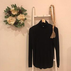 [Old Navy] Black Long Sleeve Turtleneck